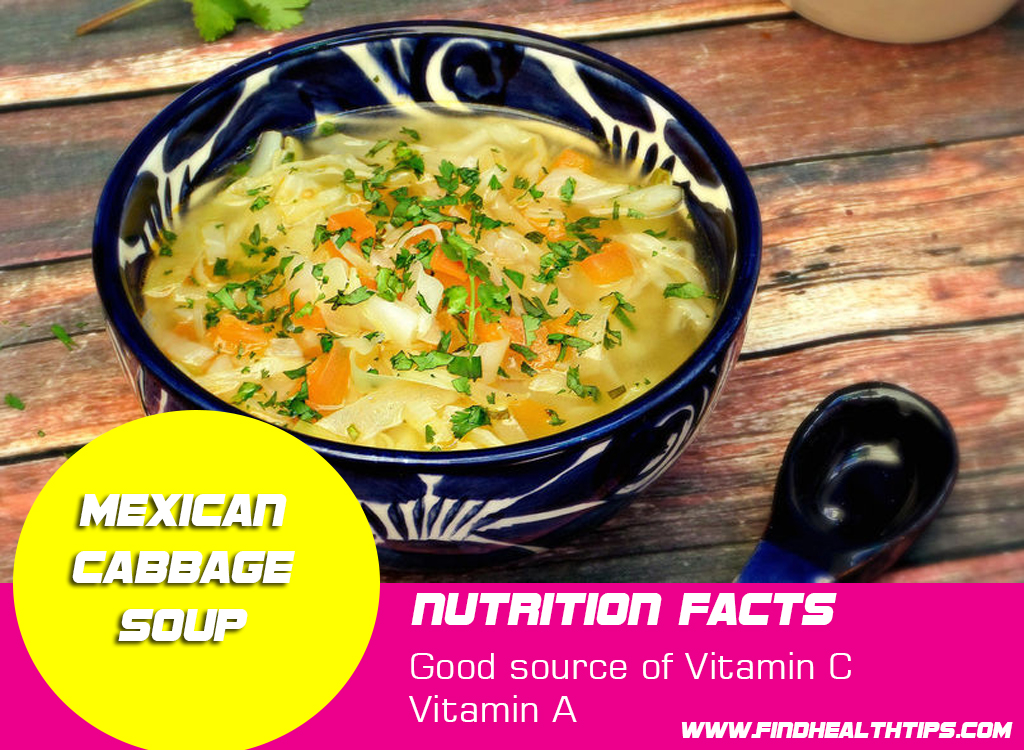 mexican cabbage weight loss soups