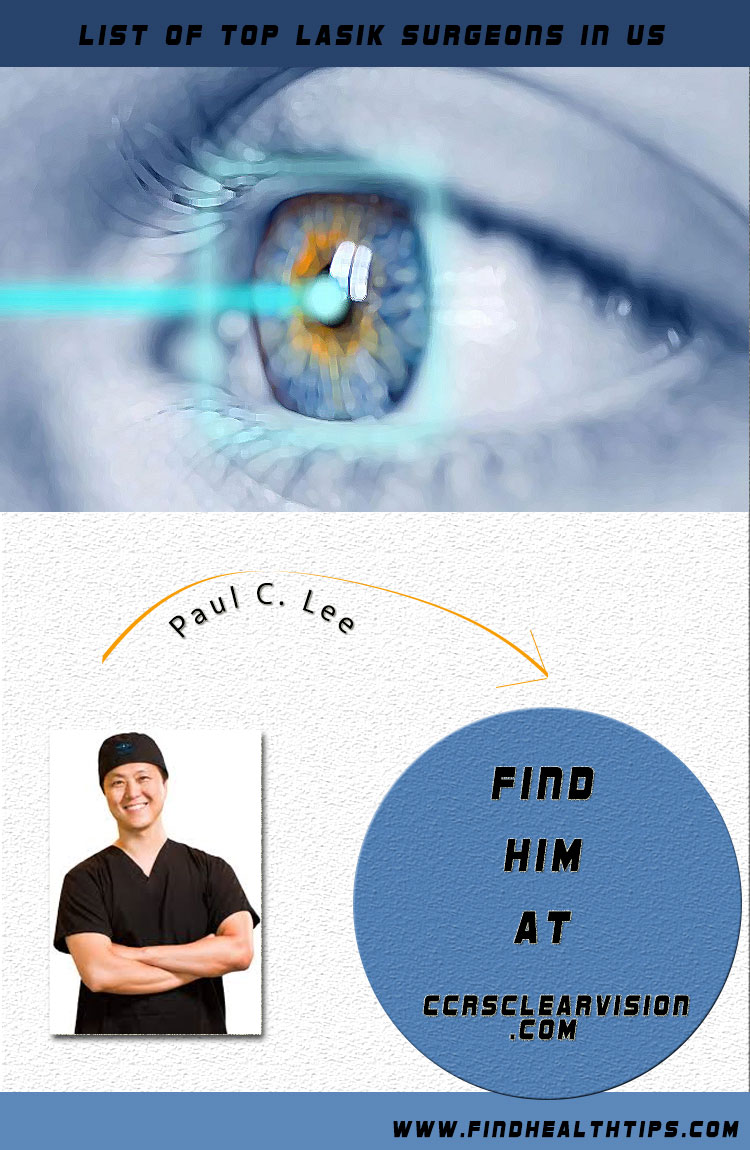 paul c lee top lasik surgeon usa