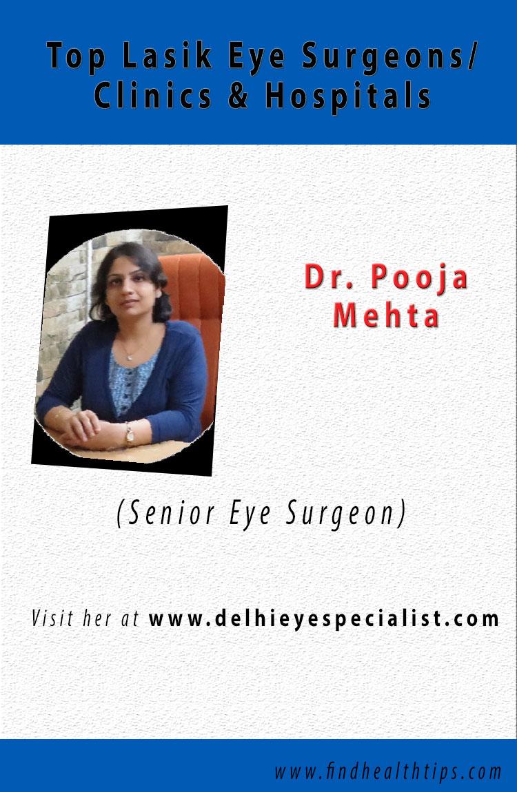 pooja mehta lasik eye surgeons delhi