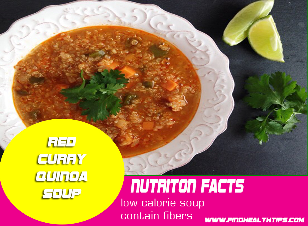 red curry quino weight loss soup