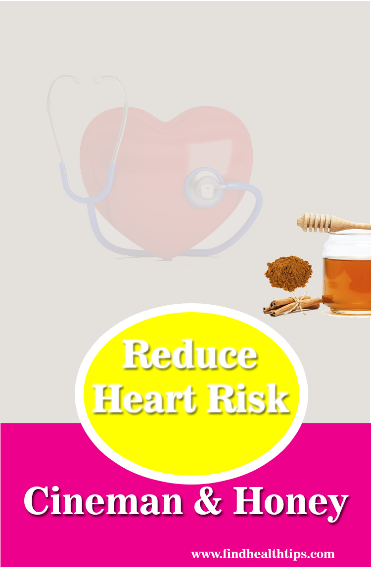 reduce heart risk honey cinnamon