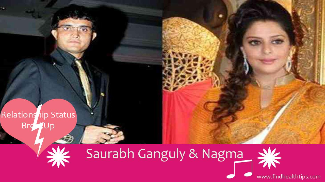 saurabh ganguli nagma cricketers who married celebrities