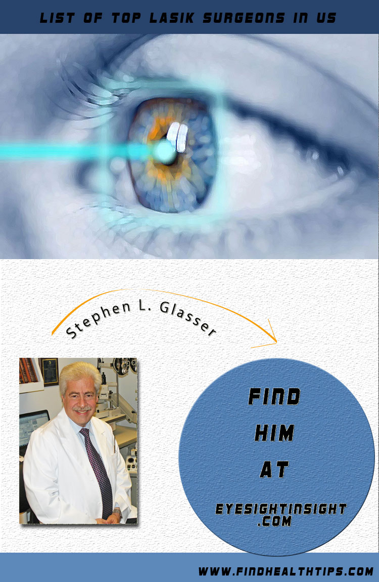 stephen l glasser top lasik surgeon usa