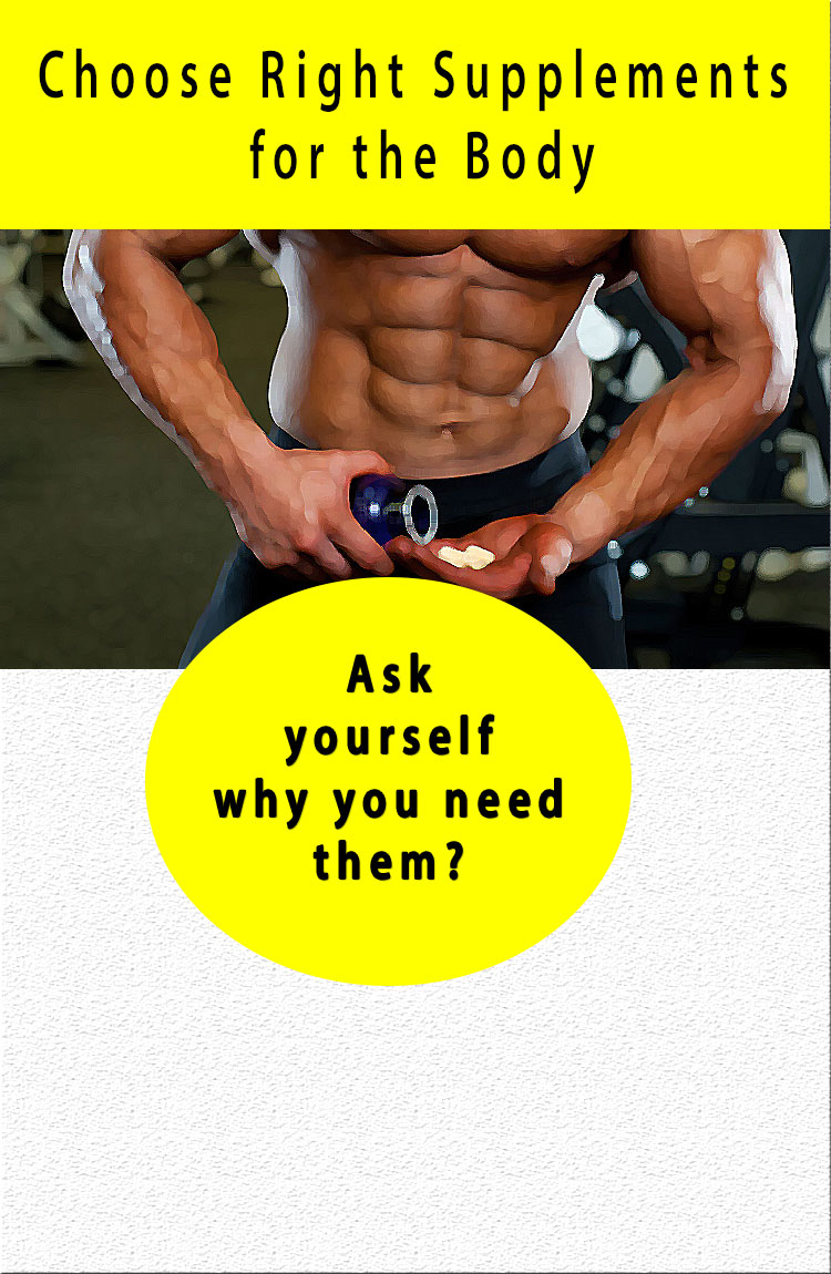 choose supplements for body