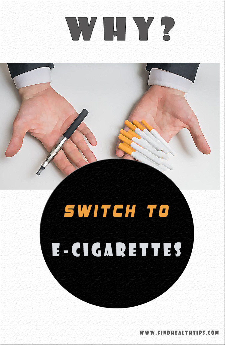 why switch to e-cigarettes