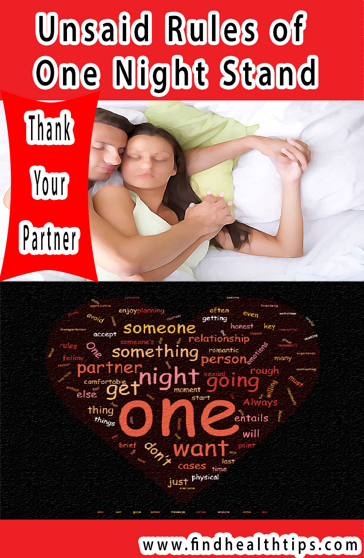 thank partner unsaid rules of one night stand