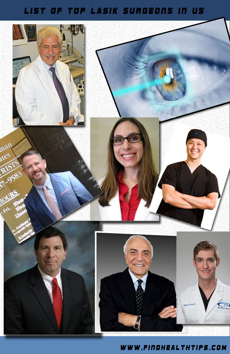 top lasik eye surgeons in USA