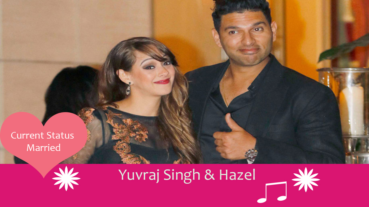 yuvraj singh Hazel cricketers who married celebrities