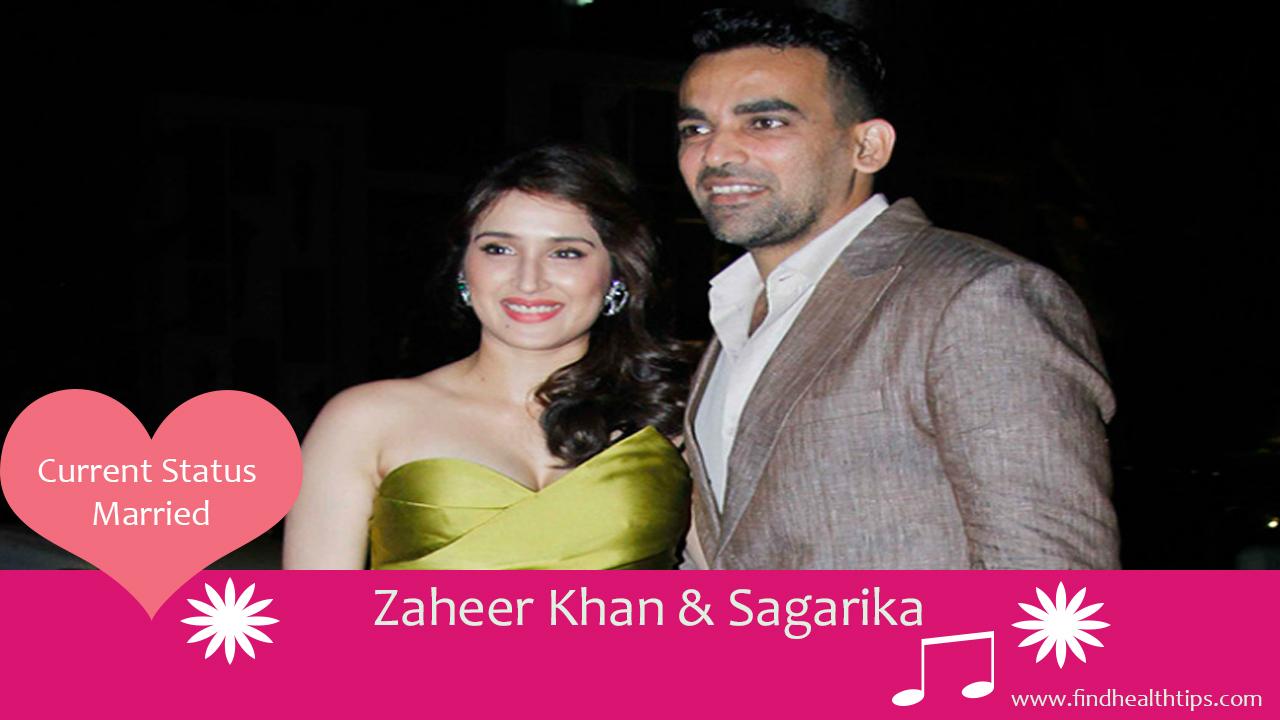 zaheer khan sagarika ghatge cricketers who married celebrities