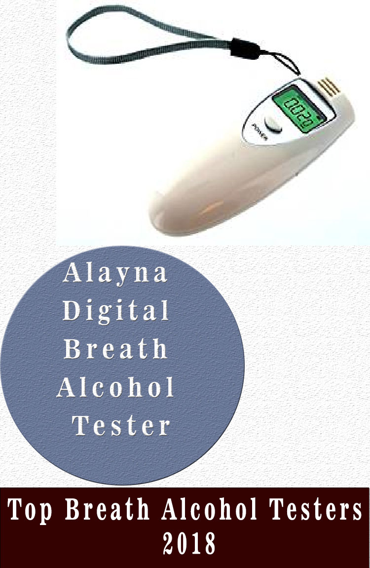 Alayna Digital Breath Alcohol Tester Top Breath Alcohol Testers 2018
