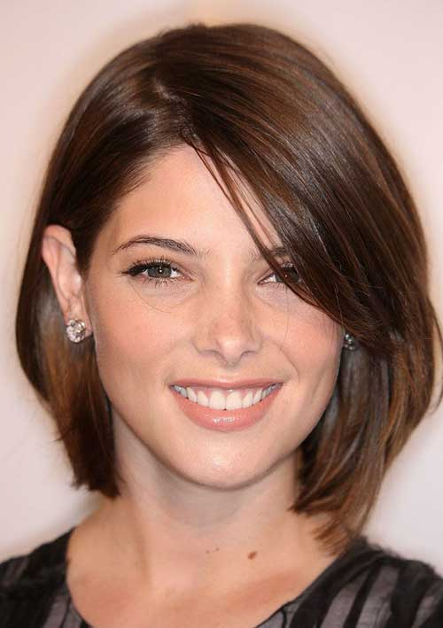 Brunette Short Hairstyle for Women