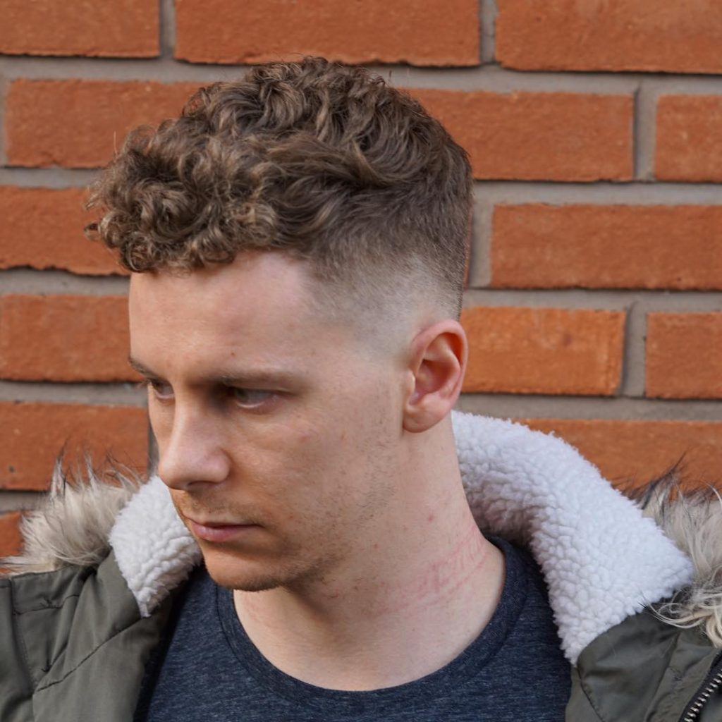 Caesar Cut Short Hairstyle for Men