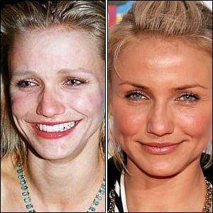Cameron Diaz without makeup photos