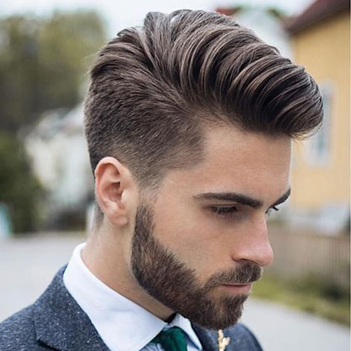 Comb Over Short Hairstyle for Men