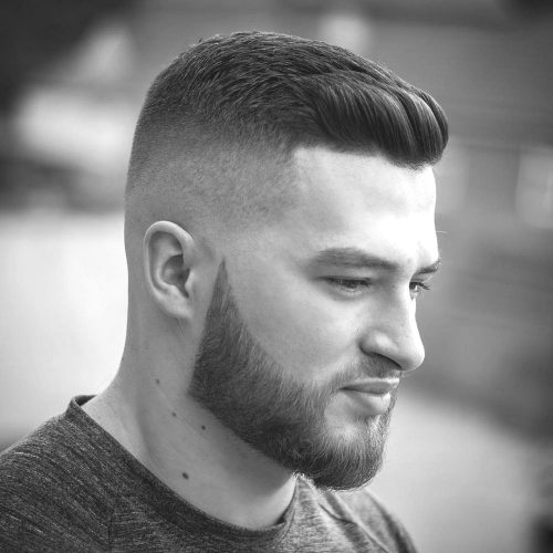 Crew Cut Short Hairstyle for Men