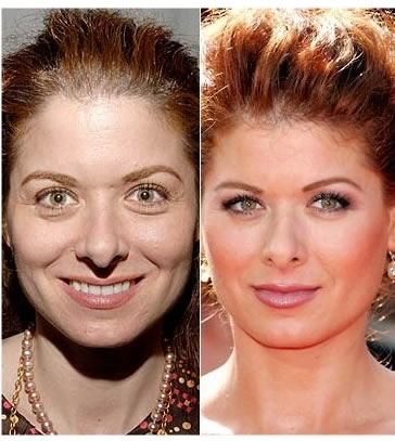 Debra Messing without makeup photos