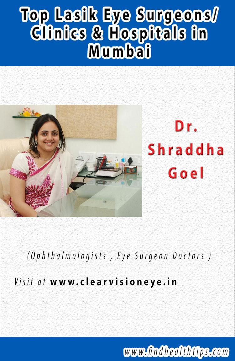 Dr. Shraddha Goel top lasik eye surgeon in Mumbai