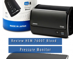HEM 7600T omron blood pressure monitor