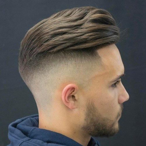 High Fade Short Hairstyle for Men