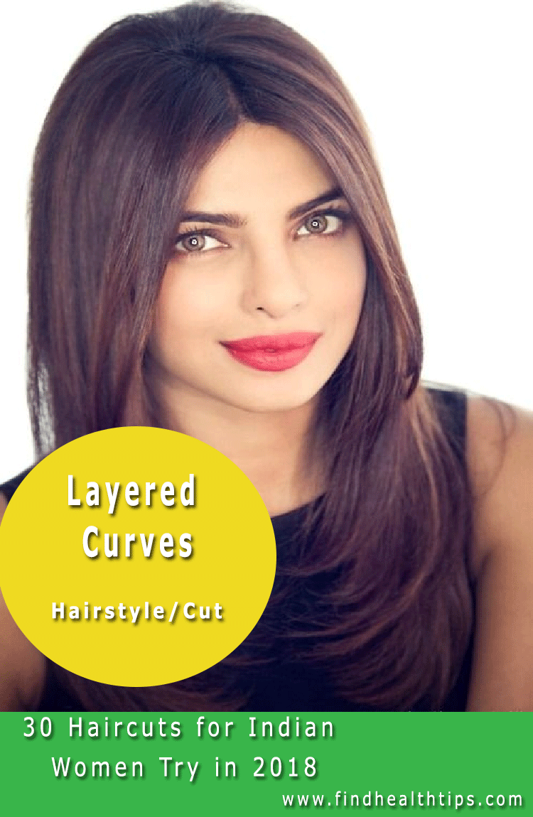 30 Haircuts For Indian Women You Must Try In 2018 Find Health Tips