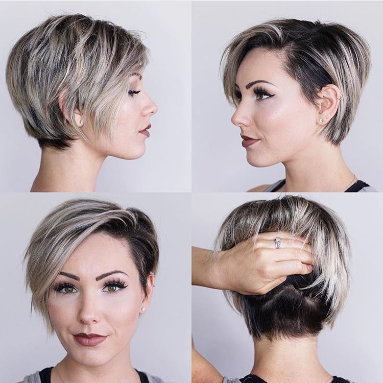 Long Pixie Latest Short Hairstyle for Women