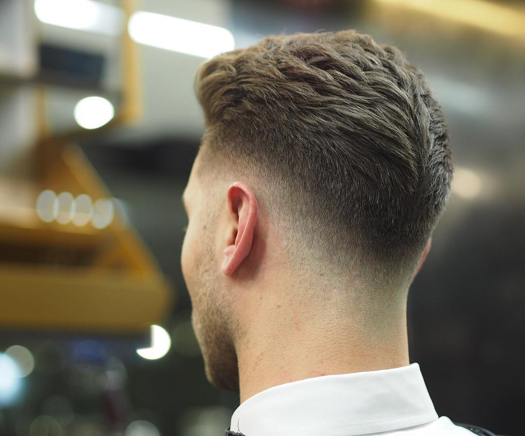 LowFade UnderCut Short Hairstyle for Men