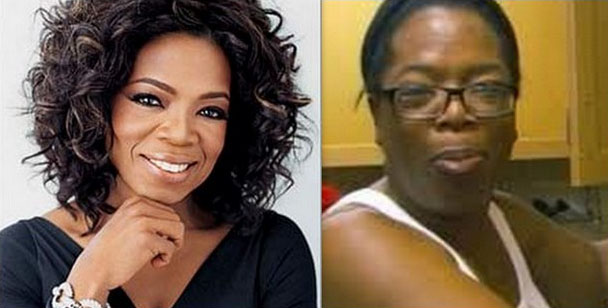 Oprah Winfrey without makeup photos
