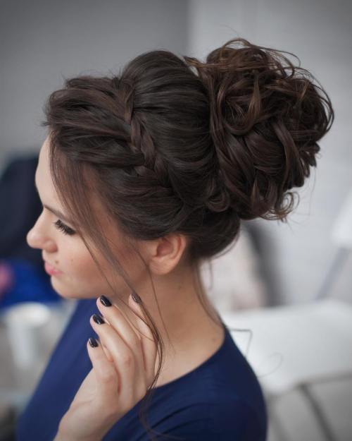 Prom Ready Updo haircut Teenage Girls