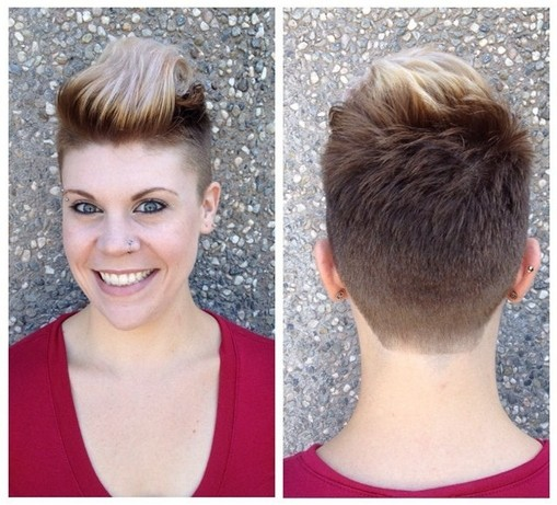 Short Pixie Hairstyle for Women