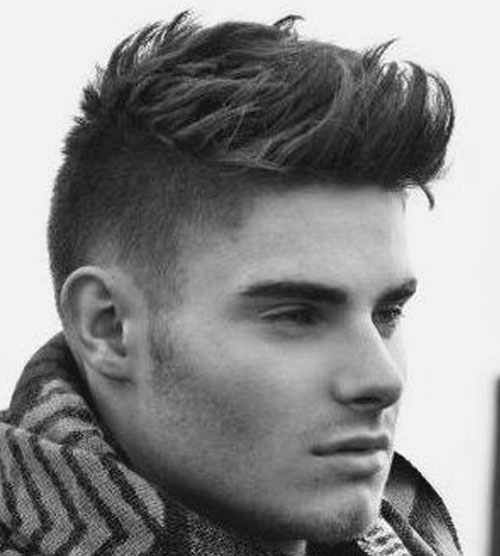 Short sides with long Top Short Hairstyle for Men