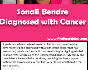 Sonali Bendre Health News