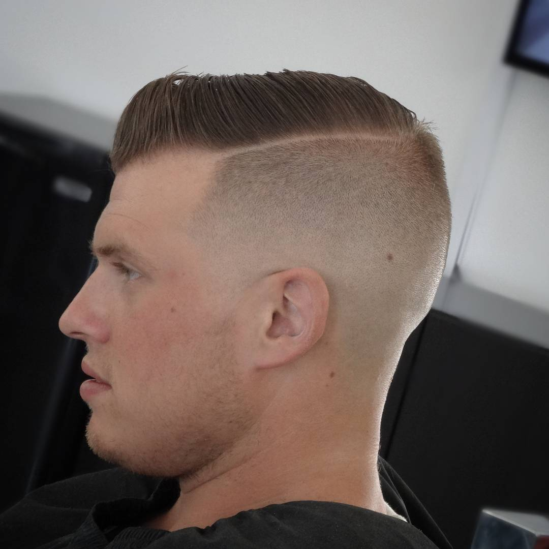 Under Cut Short Hairstyle for Men