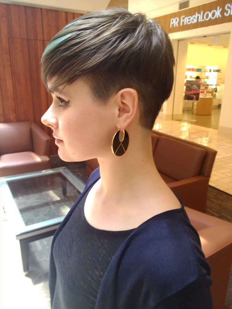 UnderCut Pixie Short Hairstyle for Women