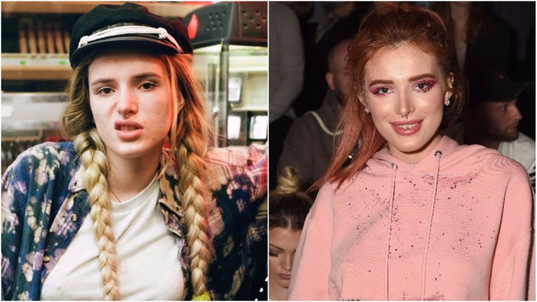 bella thorne without makeup photos