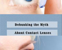 debunking myths contact lenses