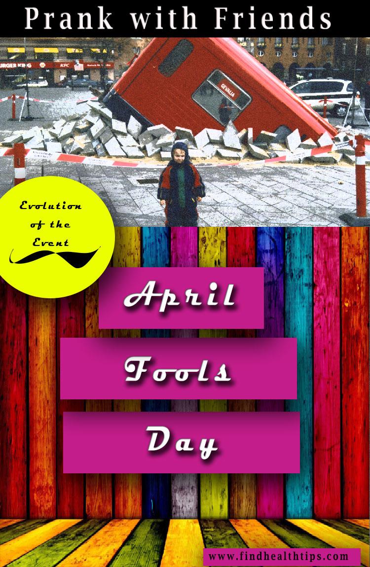 evolution april fools day
