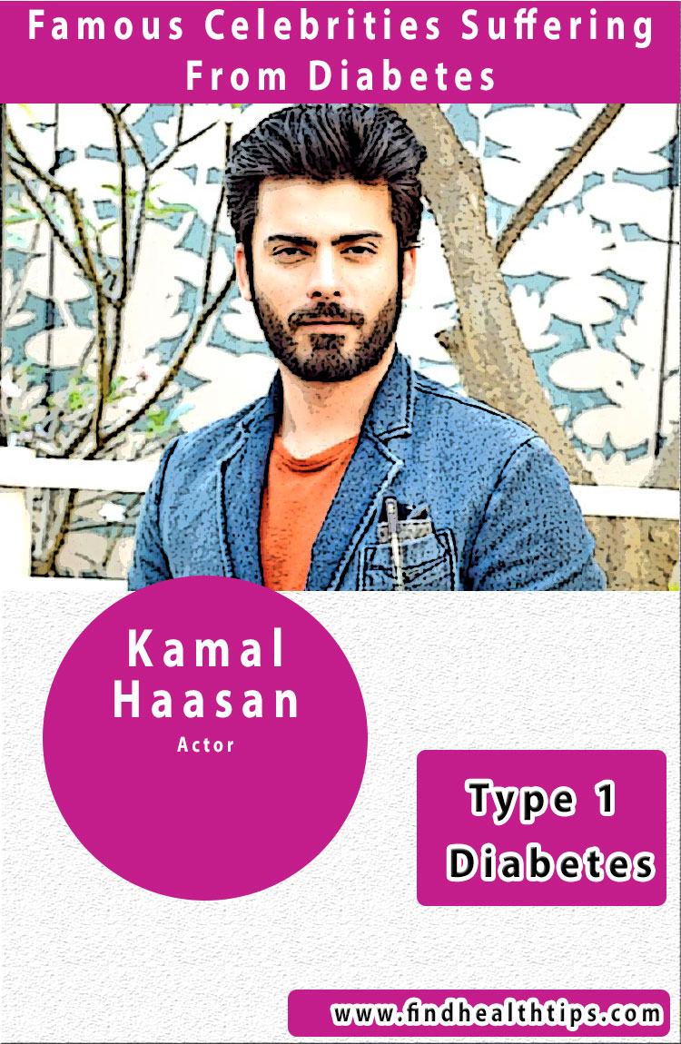 fawad khan famous diabetics celebrities india