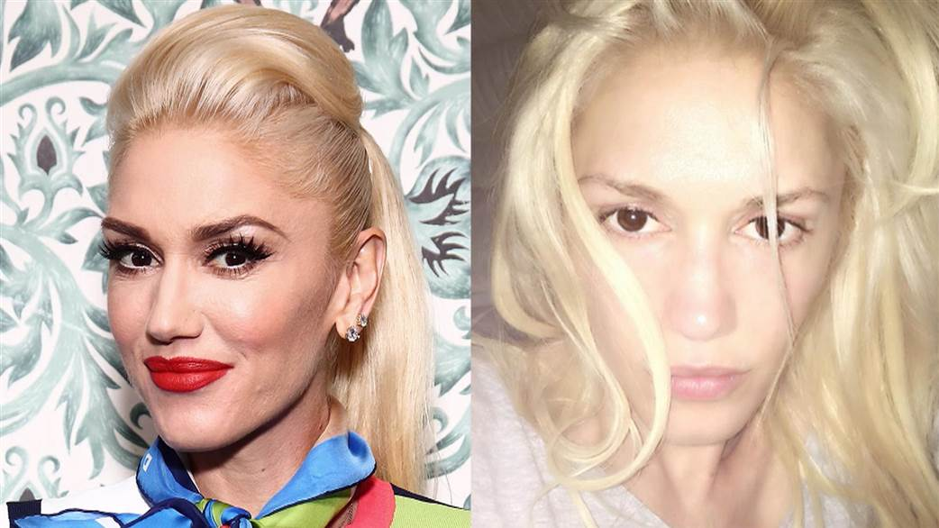 gwen stefani without makeup photos
