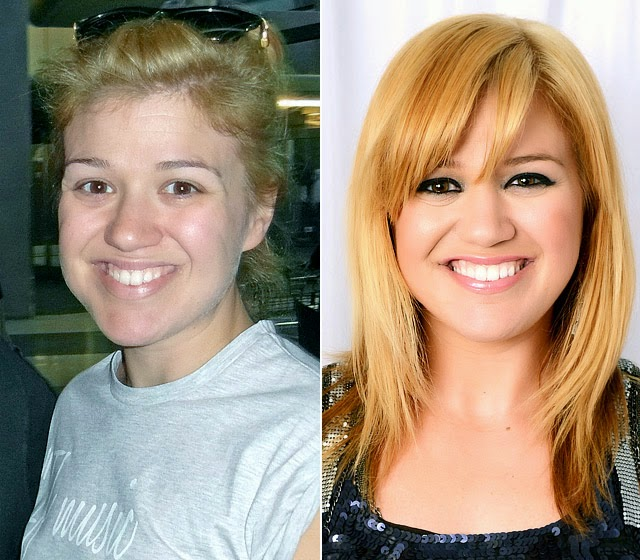 kelly clarkson without makeup photos