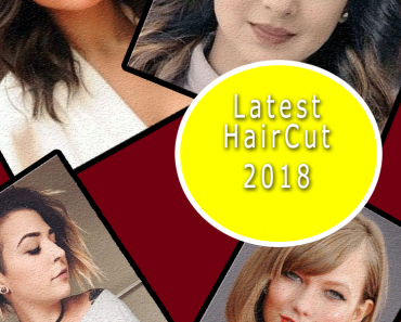latest hair cut round face women 2018