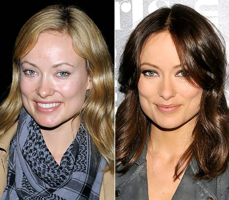 olivia wilde without makeup photos