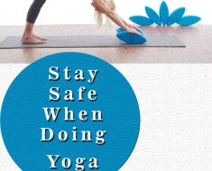 stay safe doing yoga