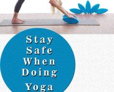 stay safe doing yoga