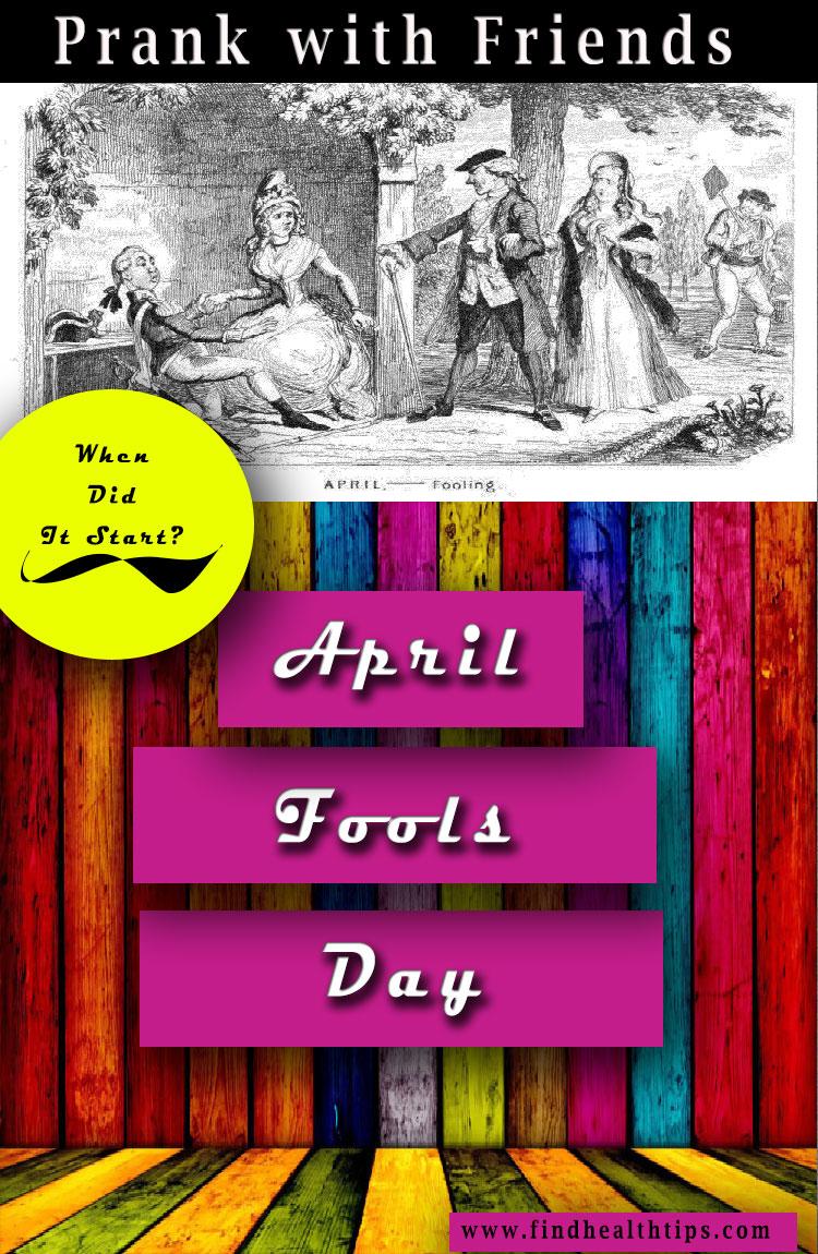 when did it start april fools day