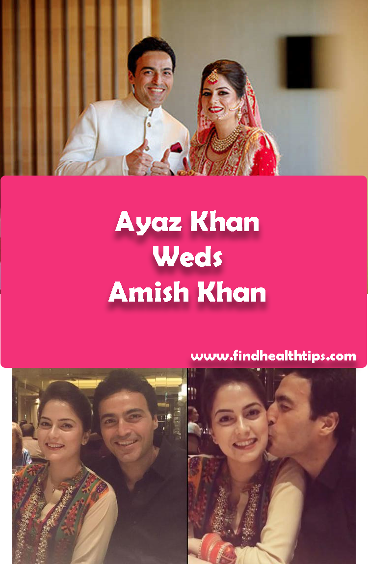 Ayaz Khan Weds Amish Khan Tv Actors Wedding 2018