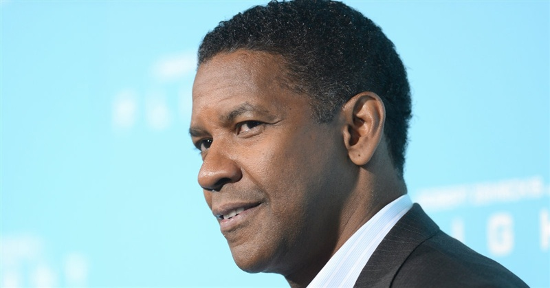 Denzel Washington Handsome Actors In Hollywood