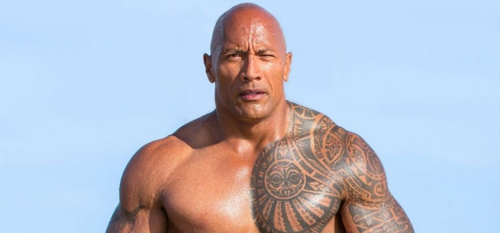 "Dwayne ""the Rock"" Johnson Handsome Actors In Hollywood"