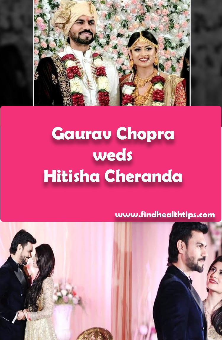 Gaurav Chopra weds Hitisha Cheranda Tv Actors Wedding 2018
