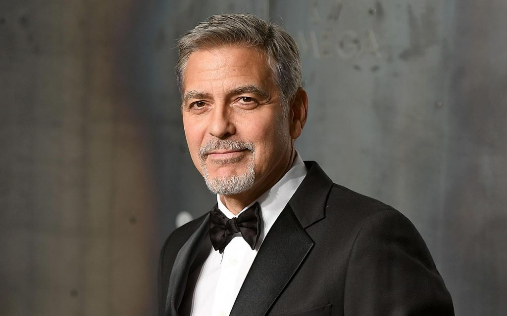 George Clooney Handsome Actors In Hollywood