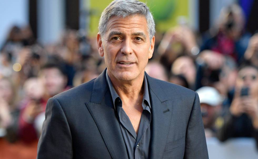 George Clooney handsome men world 2018